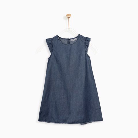 Đầm Denim Basic - DGHOL18D7