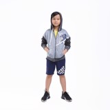 Áo Bé Trai Color Space Out Mix up Hoodie Jacket