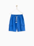 Quần Short Bé Trai M.D.K Frenchterry Pull-On Short
