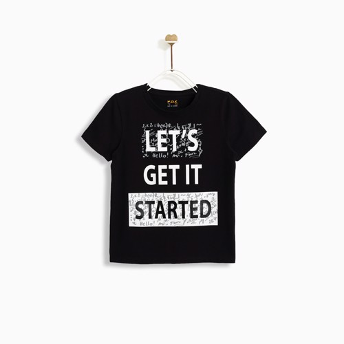 Áo thun M.D.K Bé Trai - Let Get It Started T-shirt - Black