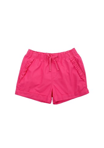 Quần shorts woven (Pull-on short with frilled)