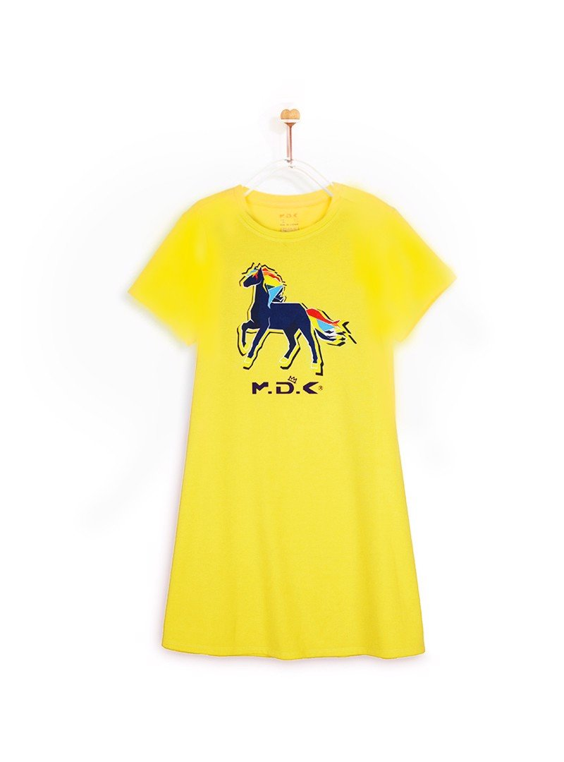 Áo Đầm Easy Dress M.D.K Signature  Horse Ez Dress