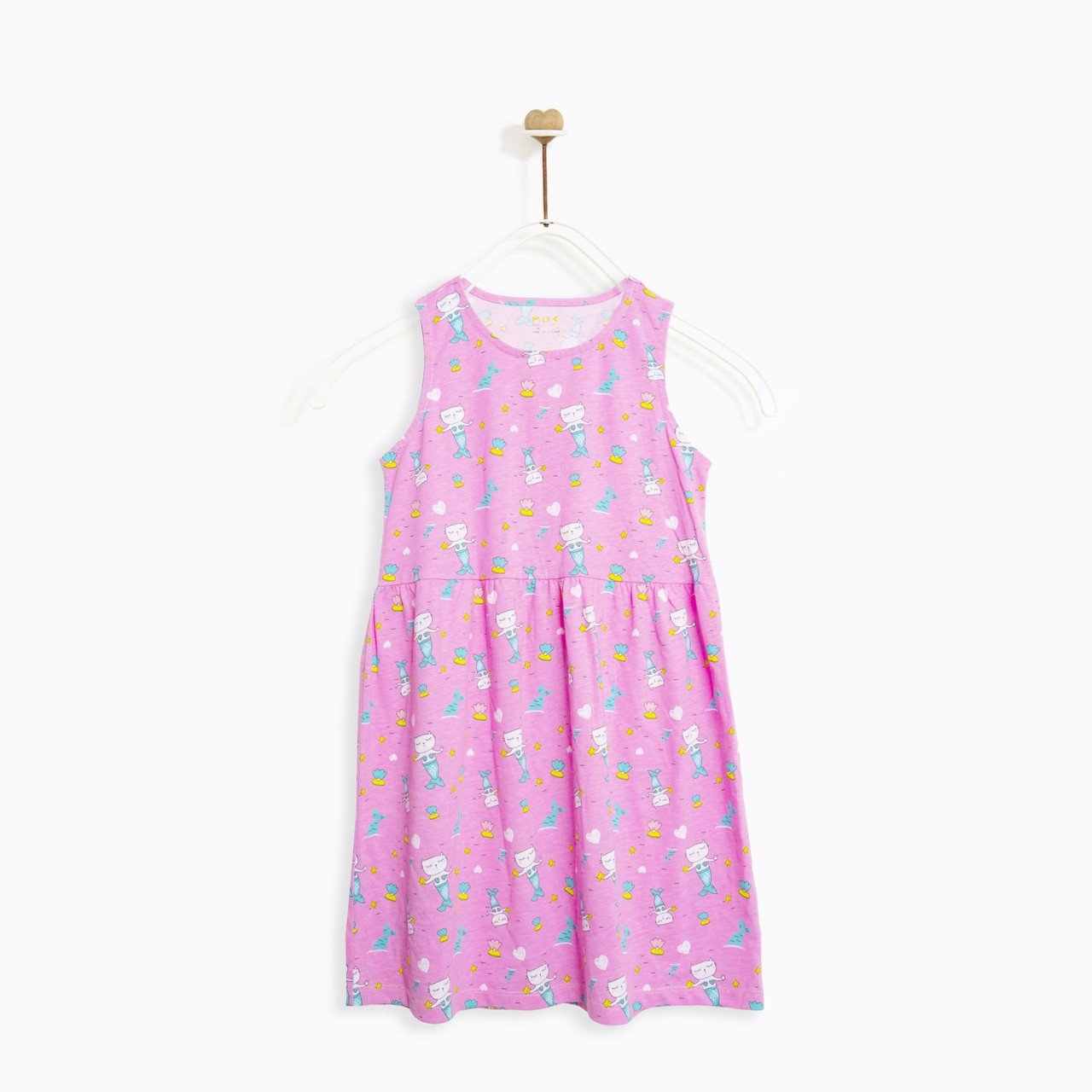 Đầm bé gái - Relaxed sleeveless dress