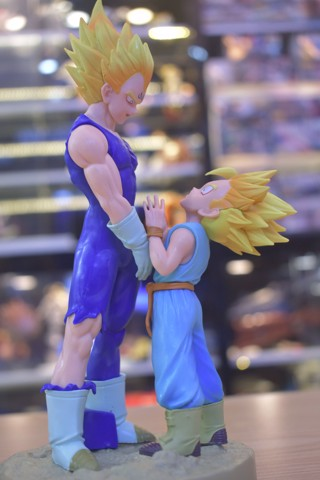 Mô hình Majin Super Saiyan Vegeta and Trunks