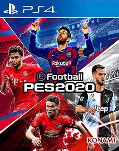 Game PS4 - PES 2020