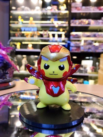 Pikachu Iron Man