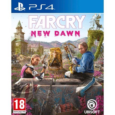 Game PS4 - Farcry: New Dawn
