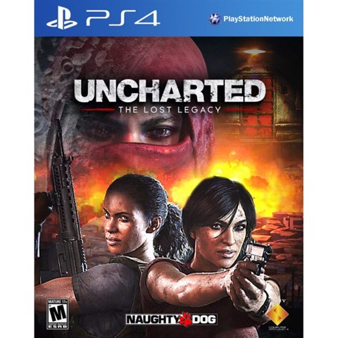 Game PS4 - Uncharted Lost Legacy