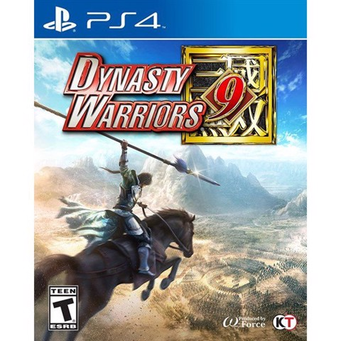 Game PS4 - Dynasty Warriors 9