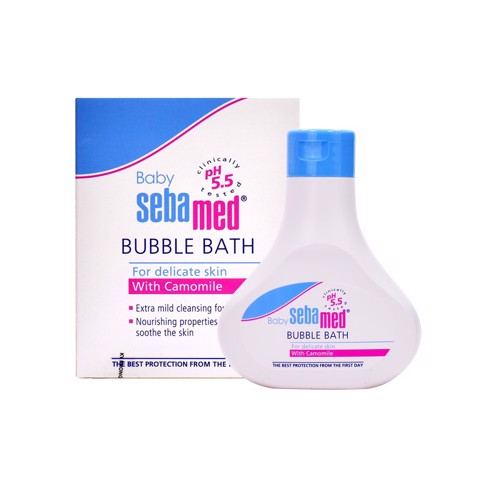 Sữa Tắm Baby Sebamed Ph 5.5 Bubble Bath (C/200ml)