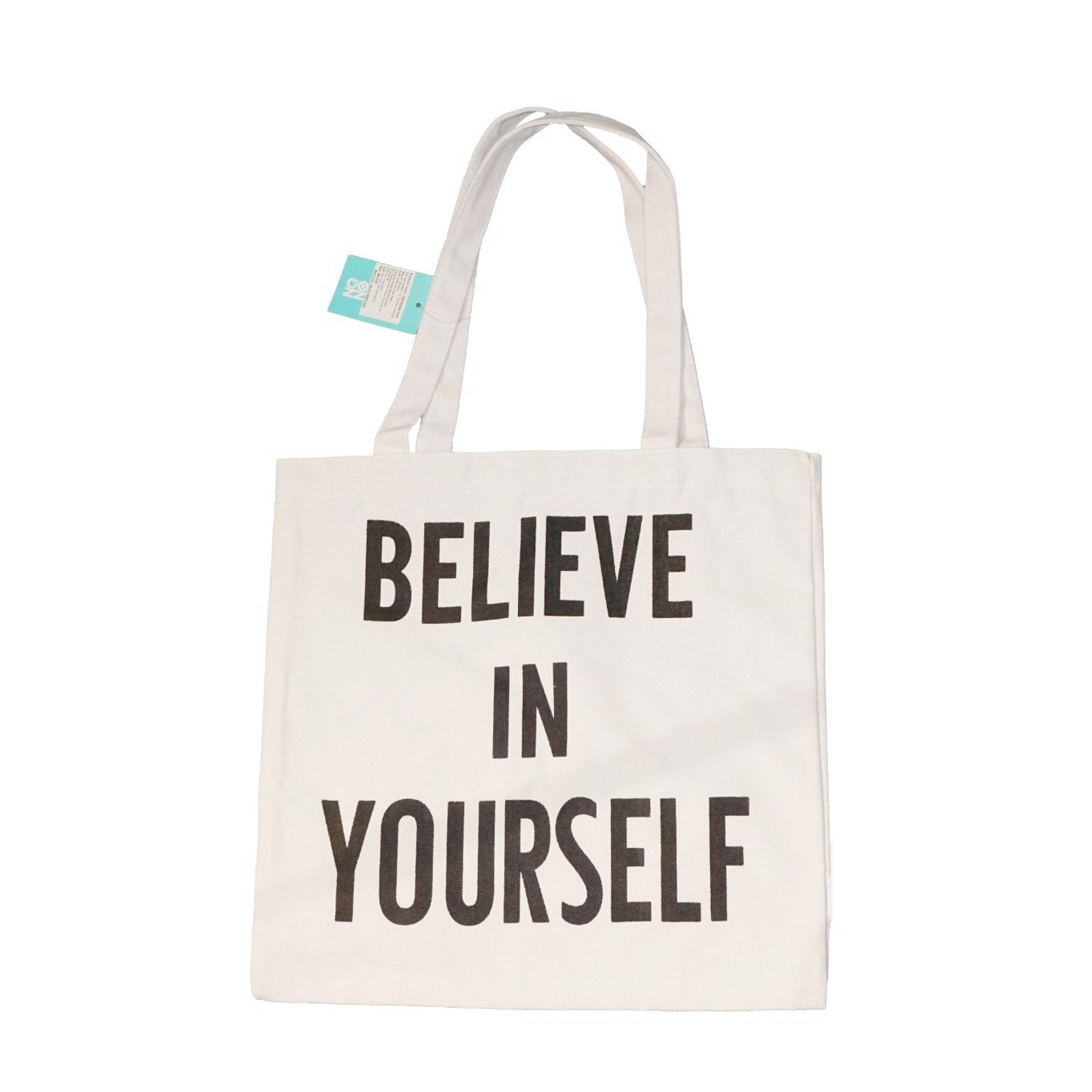 Túi canvas Believe In Yourself Trắng- 37*38.5cm O0202002C35