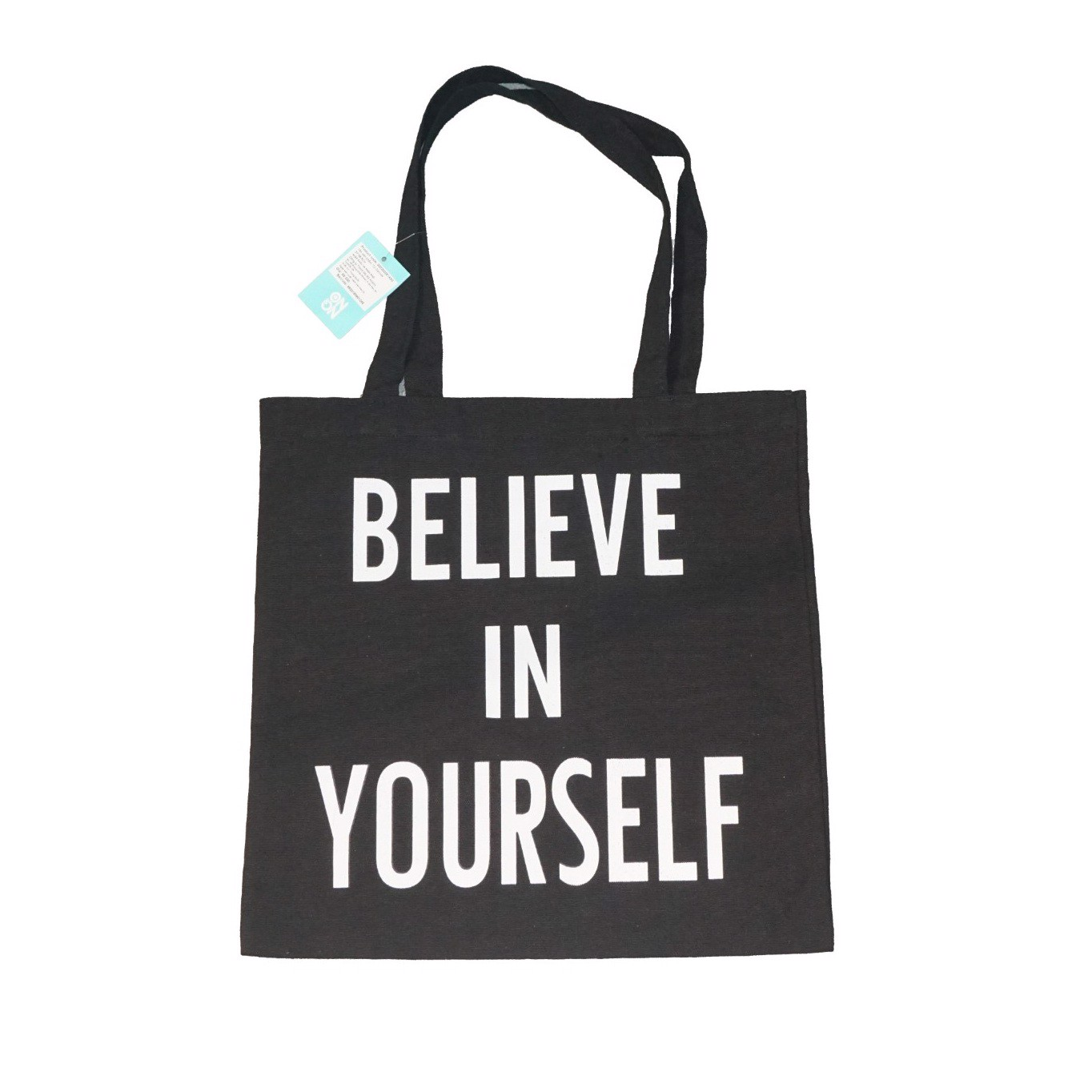 Túi canvas Believe In Your Self Đen- 37*38.5cm ON ON O0202002C35