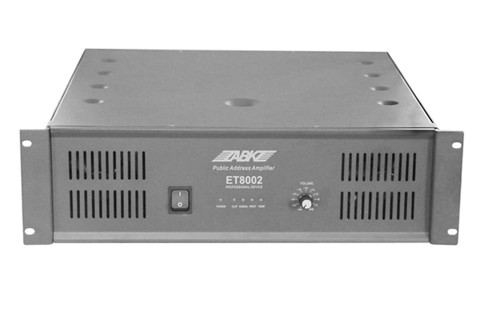 ET8004 2000W Power Amplifier