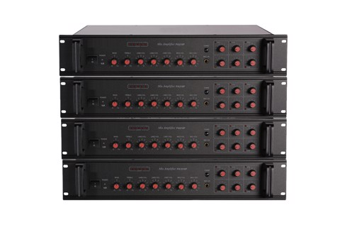 10P Series 60W-350W 6 Zones Mixing Amplifier