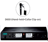 D6550 Micro UHF 200 channels/ LCD display.