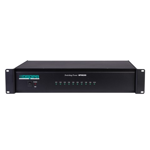 MP9820S PA System 10-channel Switching Power