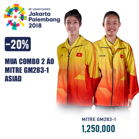 COMBO 2 BỘ SUVEC ASIAD 2018