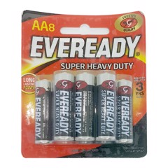 Pin Eveready Super Heavy Duty 1215 BP8 AA vỉ 5 viên