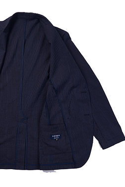 COEDO Jacket Navy Solid Coolmax