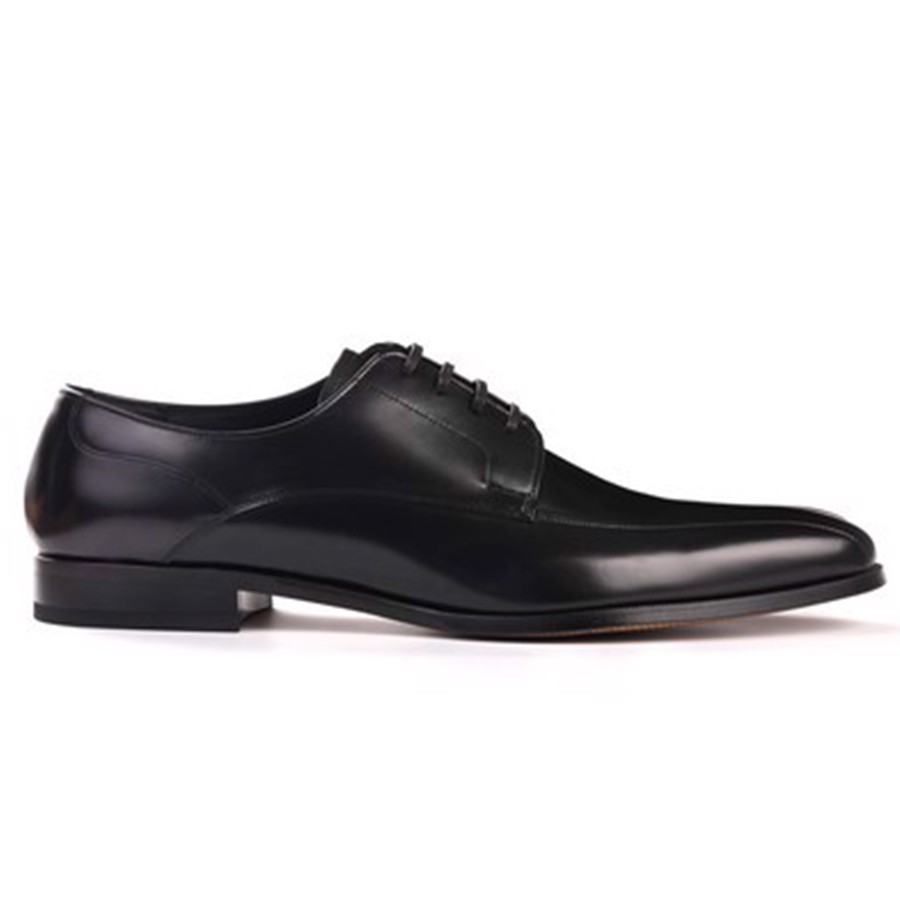 REGAL Black Derby Dress Shoe
