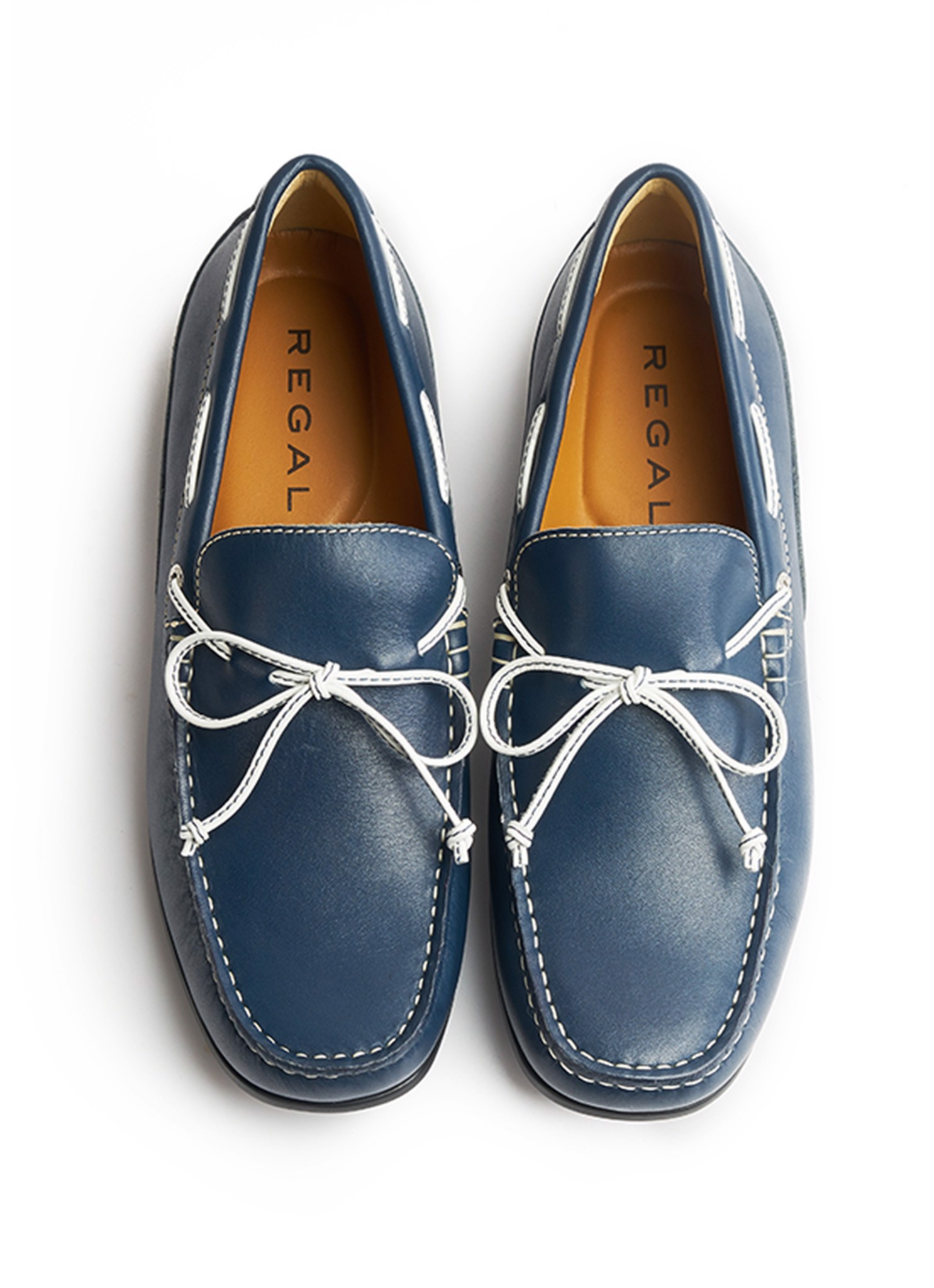 REGAL Casual Loafers Navy