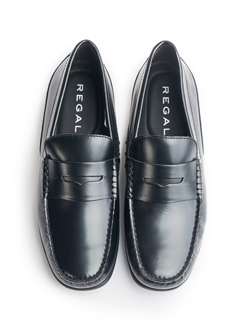 REGAL Smart Casual Loafers Black