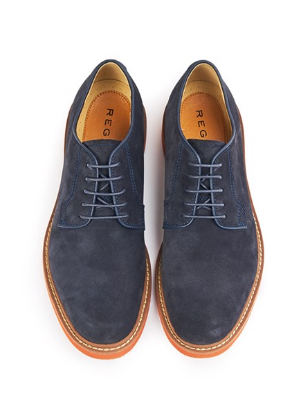 REGAL Smart Casual Plain Toe Navy Black