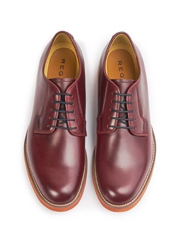 REGAL Smart Casual Plain Toe Brown