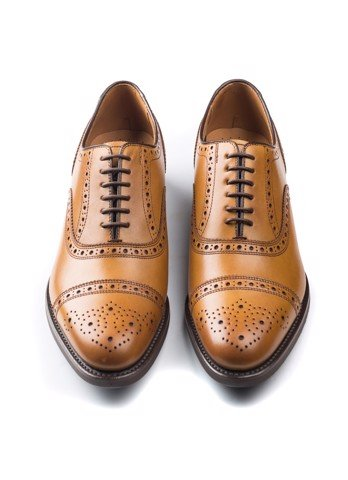 REGAL Full Brown Cap Toe Brogue Oxford