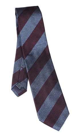 Cà vạt nam Blue & Brown Stripes Tie
