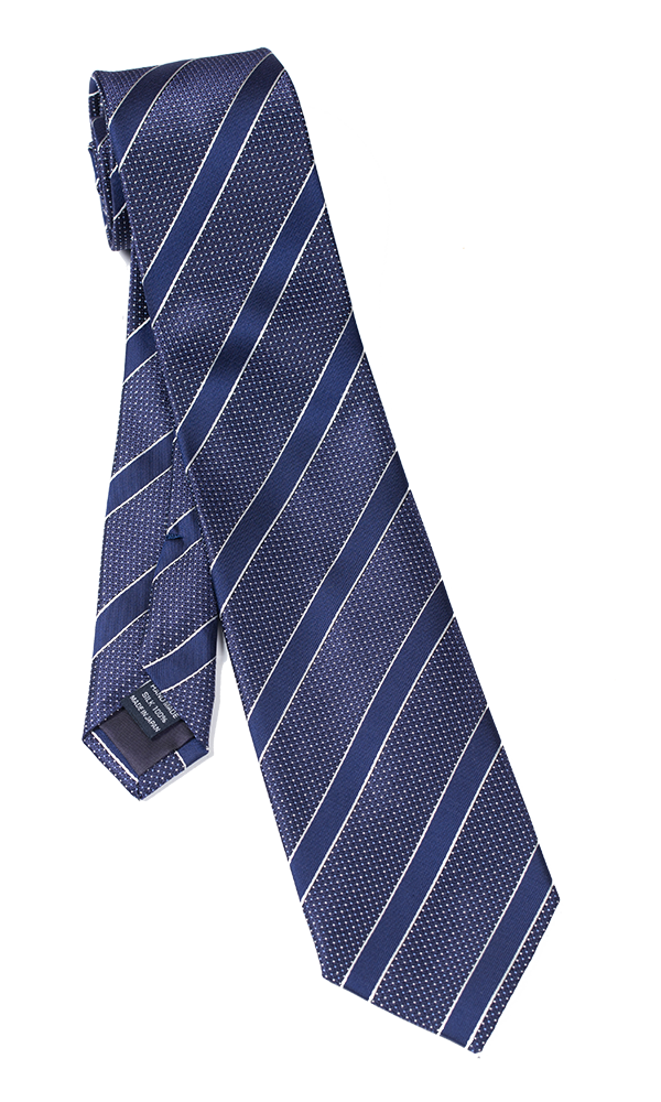 FRANCO SPADA Purple Regimental Stripes Tie