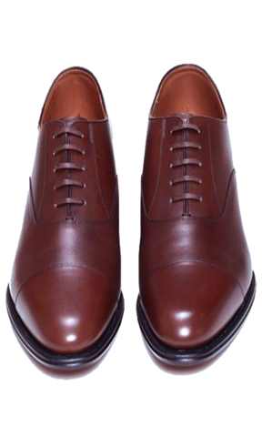 REGAL Oxford Cap Toe Dark Brown