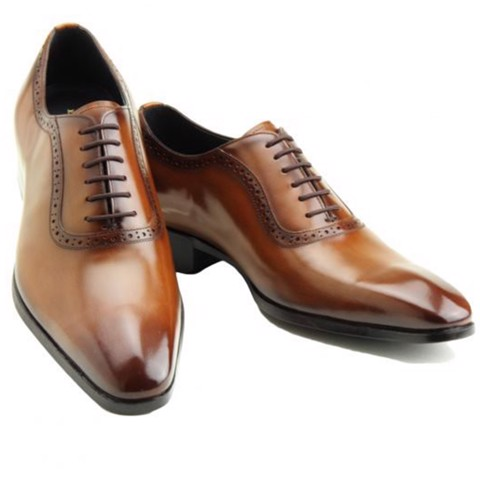 REGAL Madras Oxford Plain Toe Light Brown