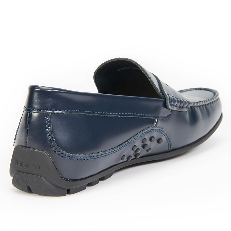 REGAL Smart Casual Loafers Navy