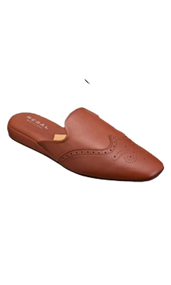 REGAL Driving Slip On Brown