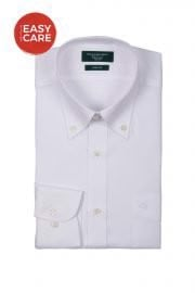 Button Down White Oxford Dress Shirt