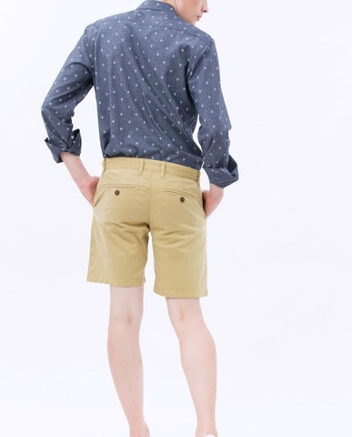 QUẦN SHORTS NAM GARMENT-DYED SHORTS