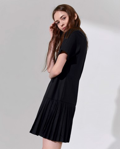 ĐẦM XẾP LY NANCY PLEAT DRESS