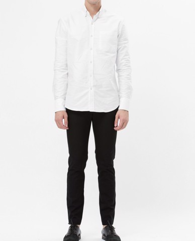 ÁO SƠ MI NAM BASIC OXFORD SHIRT (WHITE)