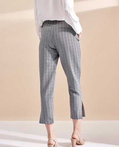 QUẦN TÂY NỮ CHECKED TROUSERS