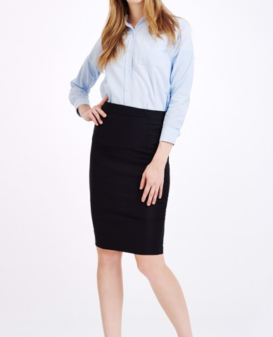 VÁY ELASTIC PENCIL SKIRT (BLACK)