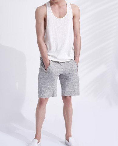 ÁO THUN NAM SLEEVELESS TOP (ECRU)
