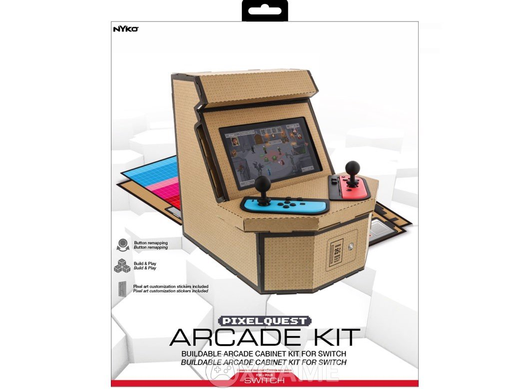 Nyko PixelQuest Arcade Kit