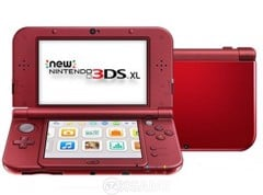 Máy New 3DS XL [TRAY] Đỏ Hacked 16GB