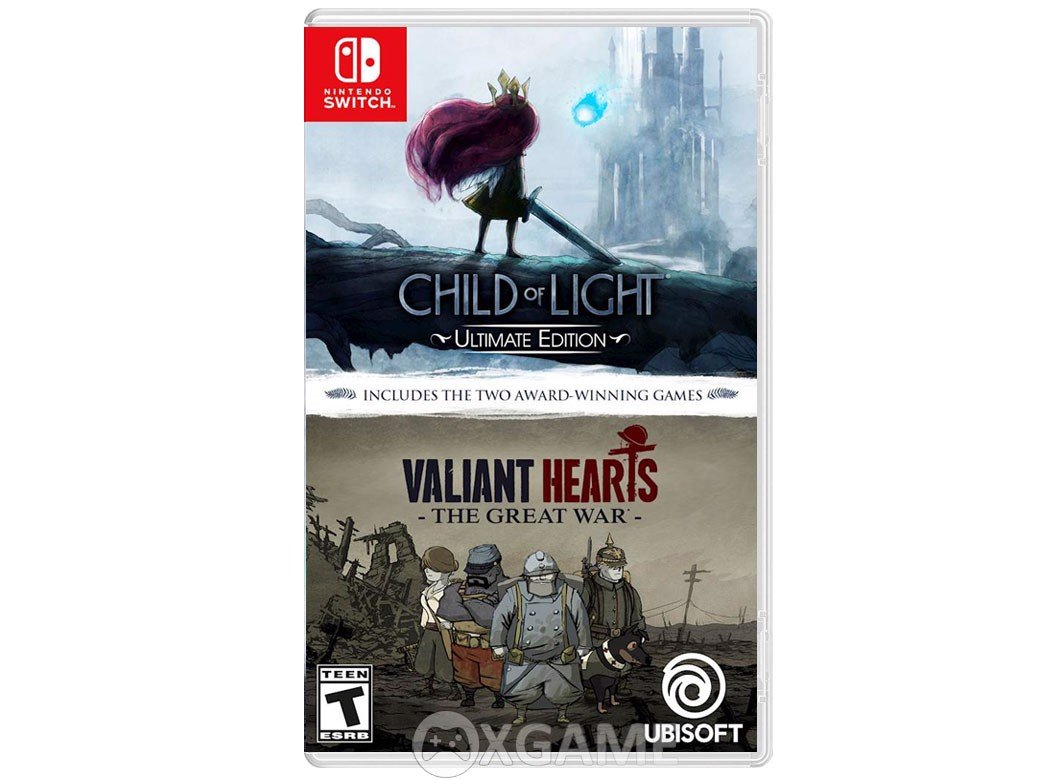 Child of Light Ultimate Edition + Vallant Hearts The Great War Double Pack