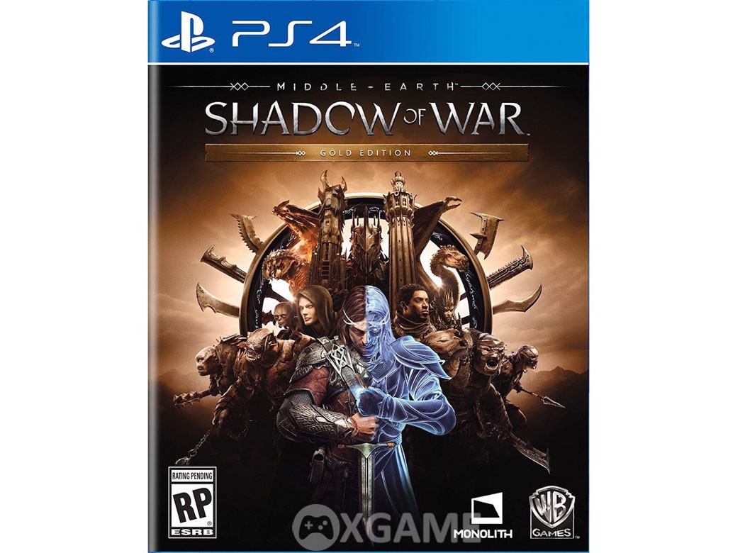 Middle-earth: Shadow of War-Gold Edition-US-Steelbox