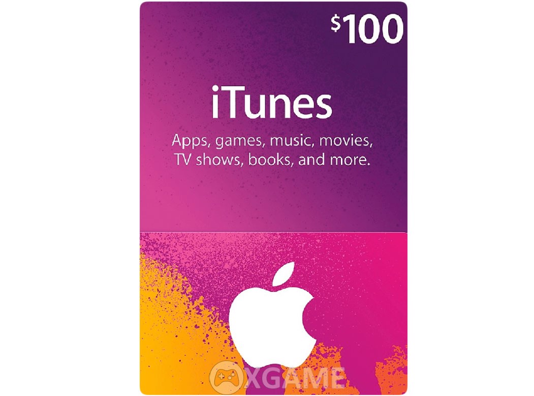 Thẻ iTunes Gift Card US-100$
