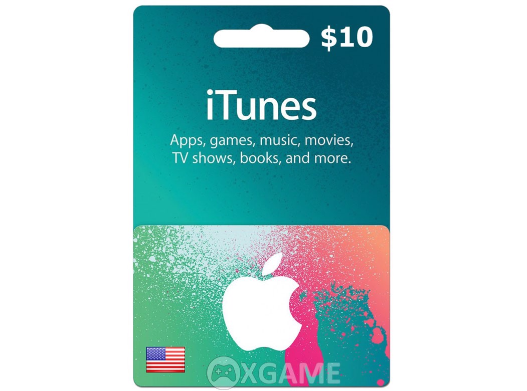 Thẻ iTunes Gift Card US-10$