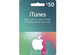 Thẻ iTunes Gift Card US-50$