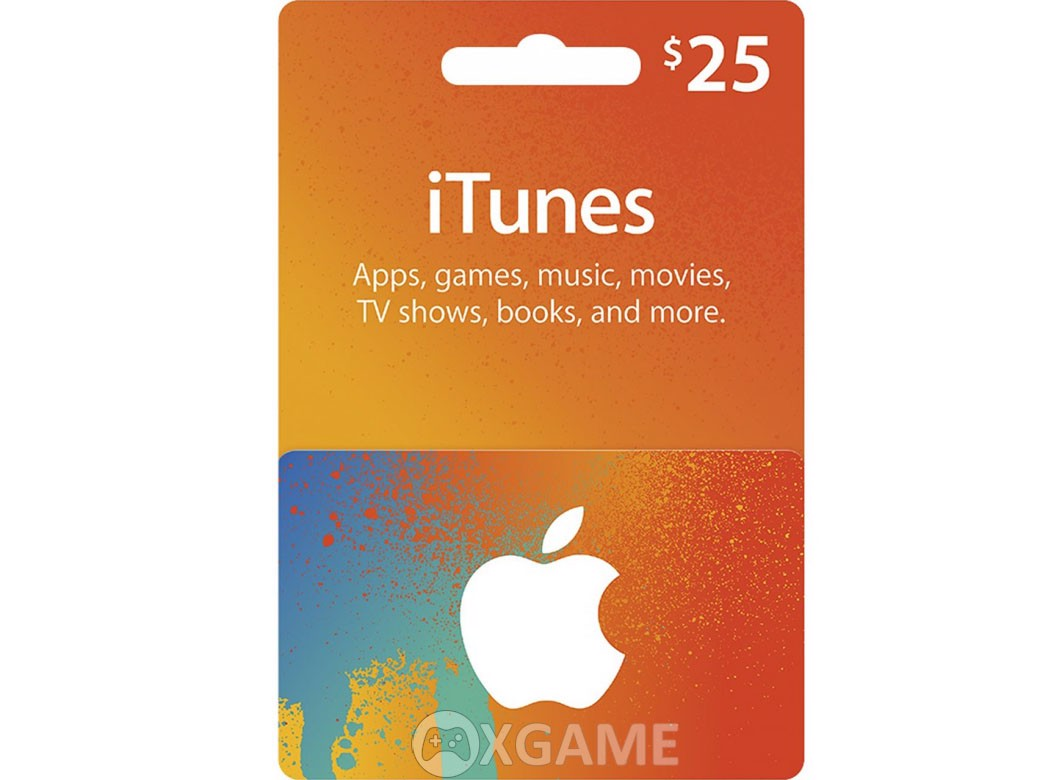 Thẻ iTunes Gift Card US-25$